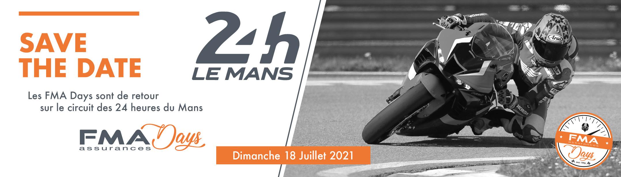 CIRCUIT DES 24 HEURES DU MANS – DIMANCHE 18 JUILLET 2021.